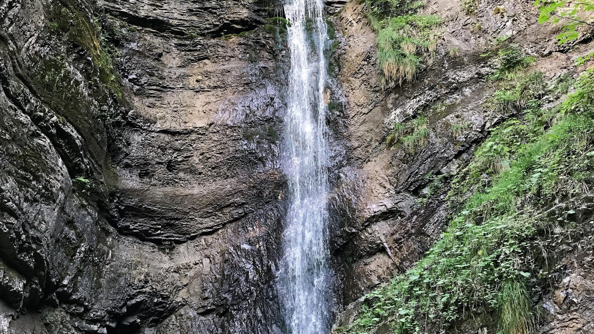 Wasserfall Ausserberg in Bürserberg