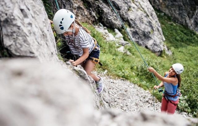 klettern in Brand (c) Alex Kaiser / Alpenregion Bludenz Tourismus GmbH