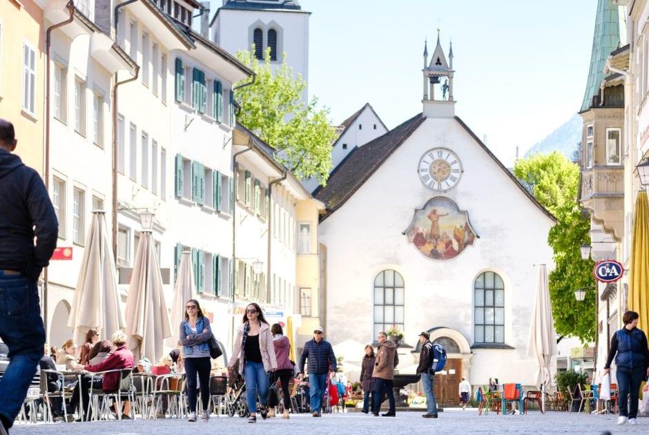 Marktgasse Feldkirch (c) Matthias Rhomberg