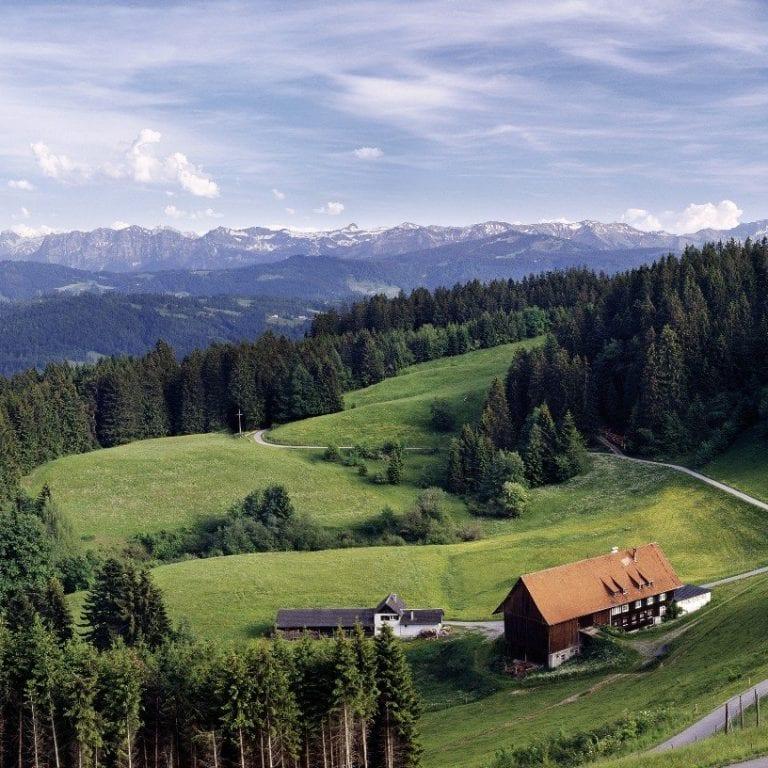 Bergpanorama rund um den Pfänder (c) Bodensee Vorarlberg Tourismus GmbH