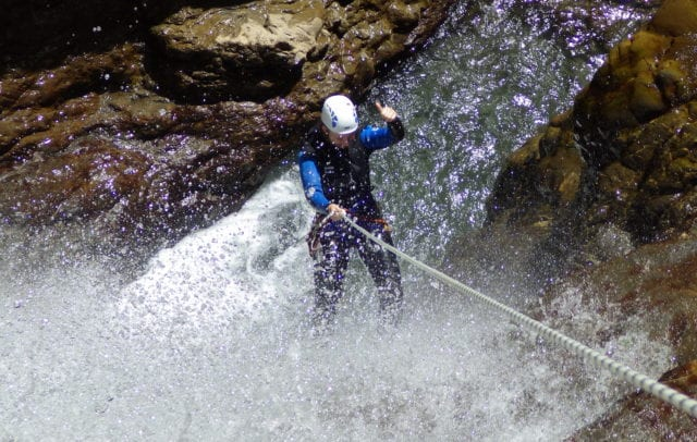 Canyoning im Bregenzerwald (c) N.N. - Alpine-Passion