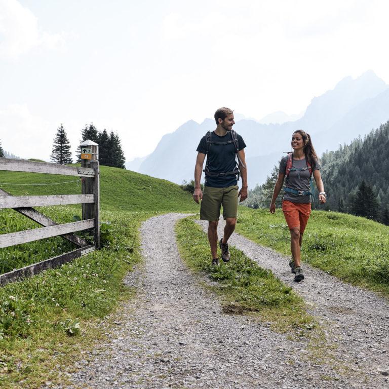 Wandern im Brandnertal © Alex Kaiser / Brandnertal Tourismus