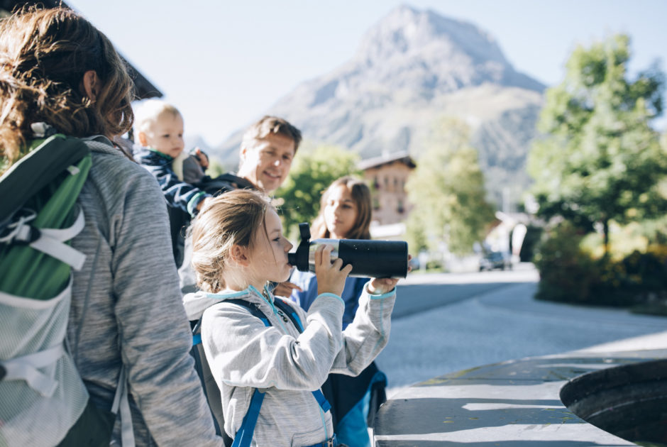 Family fun in Lech Zürs am Arlberg © Daniel Zangerl / Lech Zürs Tourismus GmbH