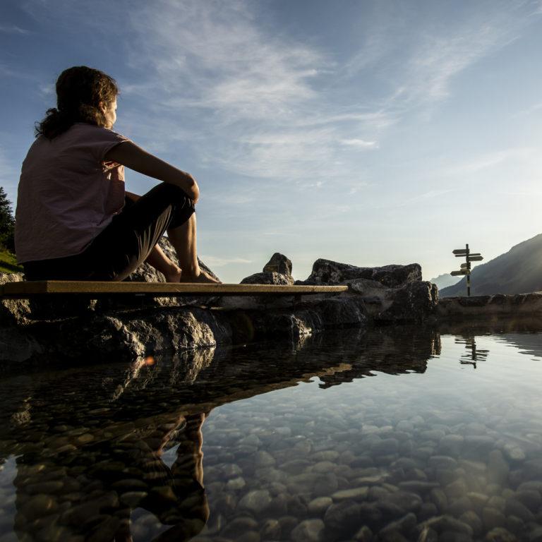 Naturerlebnisplatz Rohrweg - Erholung im Kleinwalsertal @Dominik Berchtold - Kleinwalsertal Tourismus eGen