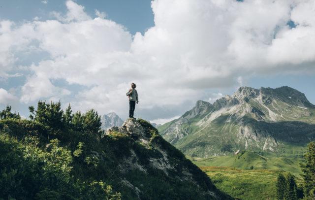 Wandern in Lech Zürs am Arlberg © Daniel Zangerl - Lech Zürs Tourismus GmbH