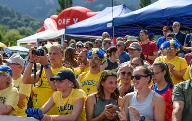Die Fans beim Hypomeeting Götzis, Vorarlberg(c)Fisquet