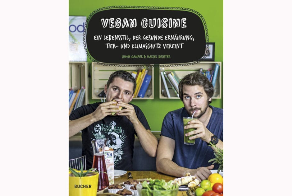 Simon Gamper und Marcel Bechter: Vegan Cuisine © Bucher Verlag