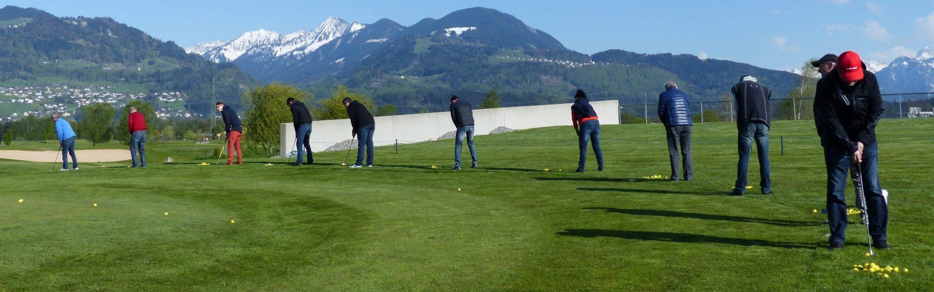Golf Schnuppertag Vorarlberg (c) Golfpark Montfort Rankweil