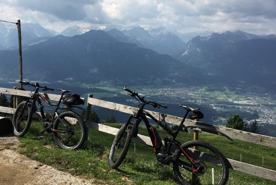 Radtour zum Dünser Älpele (c) Gregor Kreuzer / Vorarlberg Tourismus