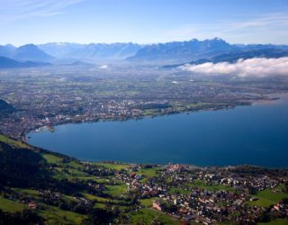 Bregenzer Bucht, Bodensee, im Herbst (c) Achim Mende / Bregenz Tourismus und Stadtmarketing