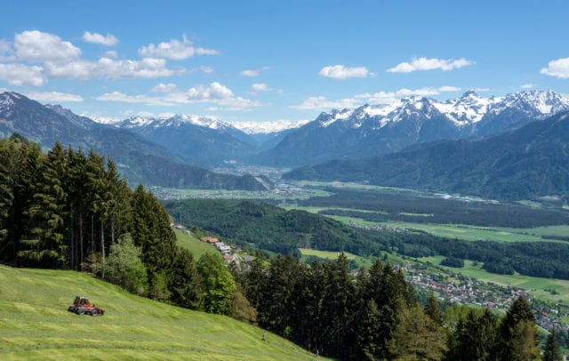 Radtour im Frühling - am Dünserberg (c) Vorarlberg Tourismus