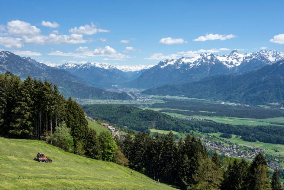 Radfahren am Dünserberg (c) Vorarlberg Tourismus