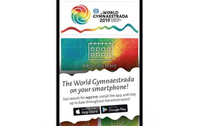 Weltgymnaestrada-App (c) Weltgymnaestrada 2019