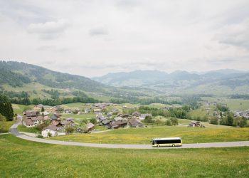 Bus, Bregenzerwald © Kevin Faingnaert