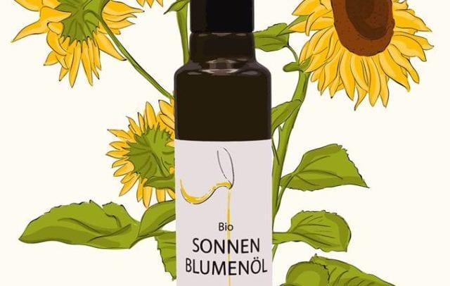 Bio Sonnenblumenöl (c) Ölmühle Sailer