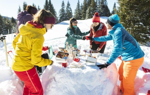 Schneeschuh-Genusstour mit Picknick im Montafon © Stefan Kothner I Montafon Tourismus GmbH, Schruns