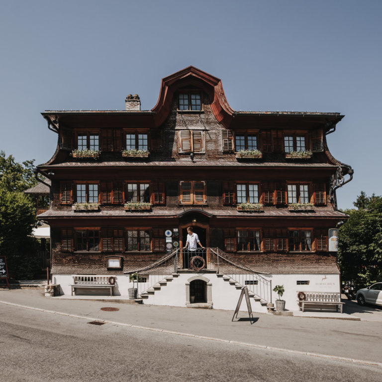 Hirschen Schwarzenberg Aussenansicht © Angela Lamprecht / Vorarlberg Tourismus