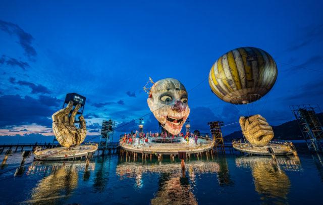 Rigoletto auf der Seebühne 2019 und 2020 (c) Ralph Larmann / Bregenzer Festspiele