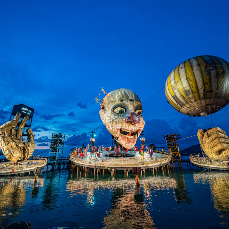 Rigoletto auf der Seebühne 2019 und 2021 (c) Ralph Larmann / Bregenzer Festspiele