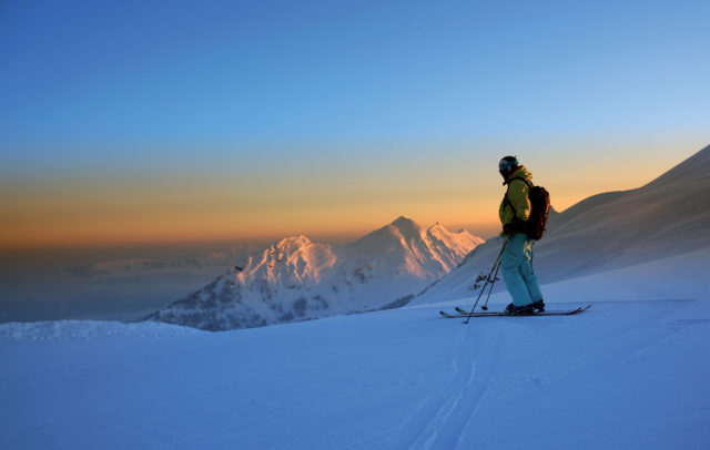 Skifahrer Mellau-Damuels © Ludwig Berchtold undefined