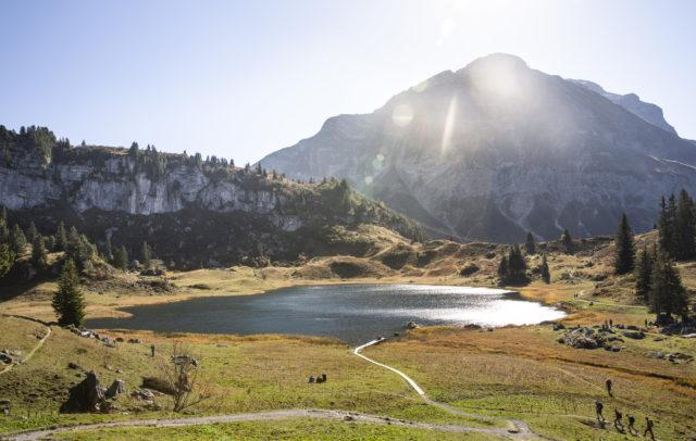 Körbersee (c) David Beger - Vorarlberg Tourismus