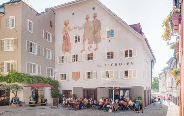 Stadthotel das TSCHOFEN, Bludenz (c) Hanno Mackowitz
