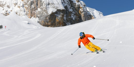 Skifahren am Ifen im Kleinwalsertal © Frank Drechsel / Kleinwalsertal Tourismus eGen
