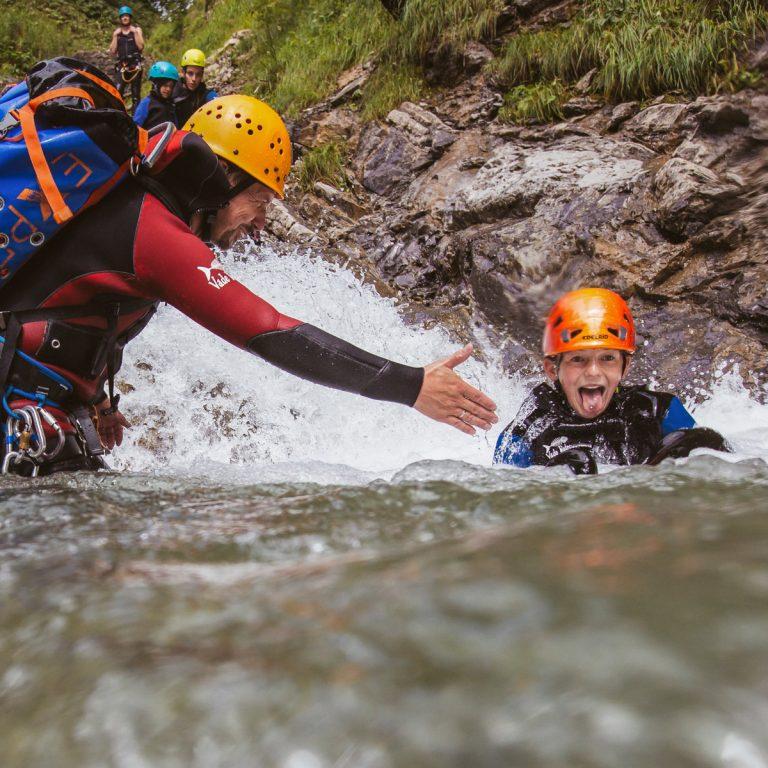Canyoning © Jürgen Riegger - Alpine-Passion
