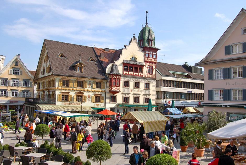Wochenmarkt Dornbirn © Dornbirn Tourismus & Stadtmarketing GmbH