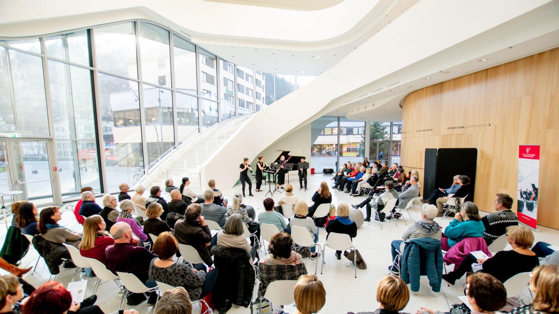 Konzert am Mittag, Montforthaus Feldkirch, Kultur Vorarlberg (c) Victor Marin / Vorarlberger Landeskonservatorium