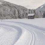 Winterwandern Richtung Enge Vorsäß in Mellau