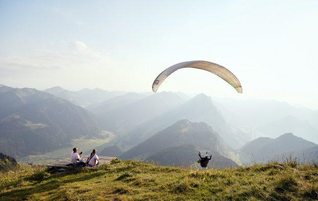 Diedamskopf Paragleiten Sommer © Alex Kaiser - Diedamskopf Alpin Tourismus GmbH