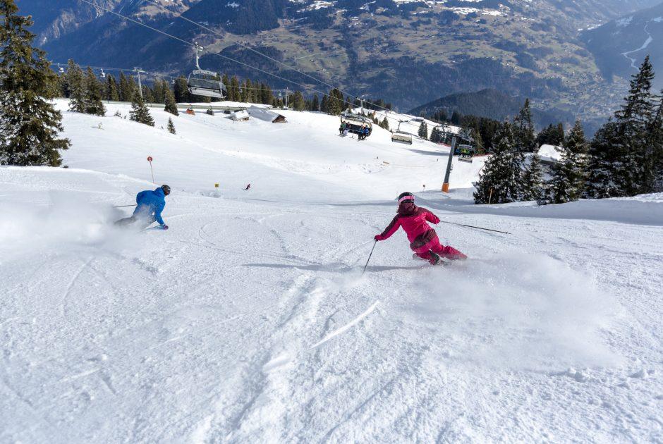 Skifahren am Golm (c) Montafon Tourismus GbmH - Stefan Kothner