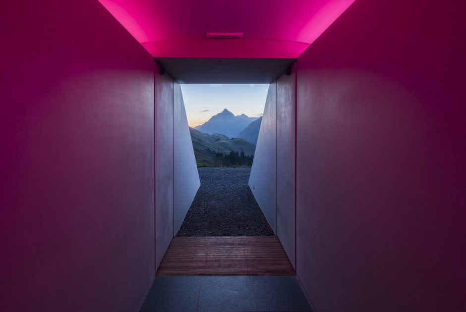 Skyspace von James Turrell, Lech am Arlberg (c) Florian Holzherr