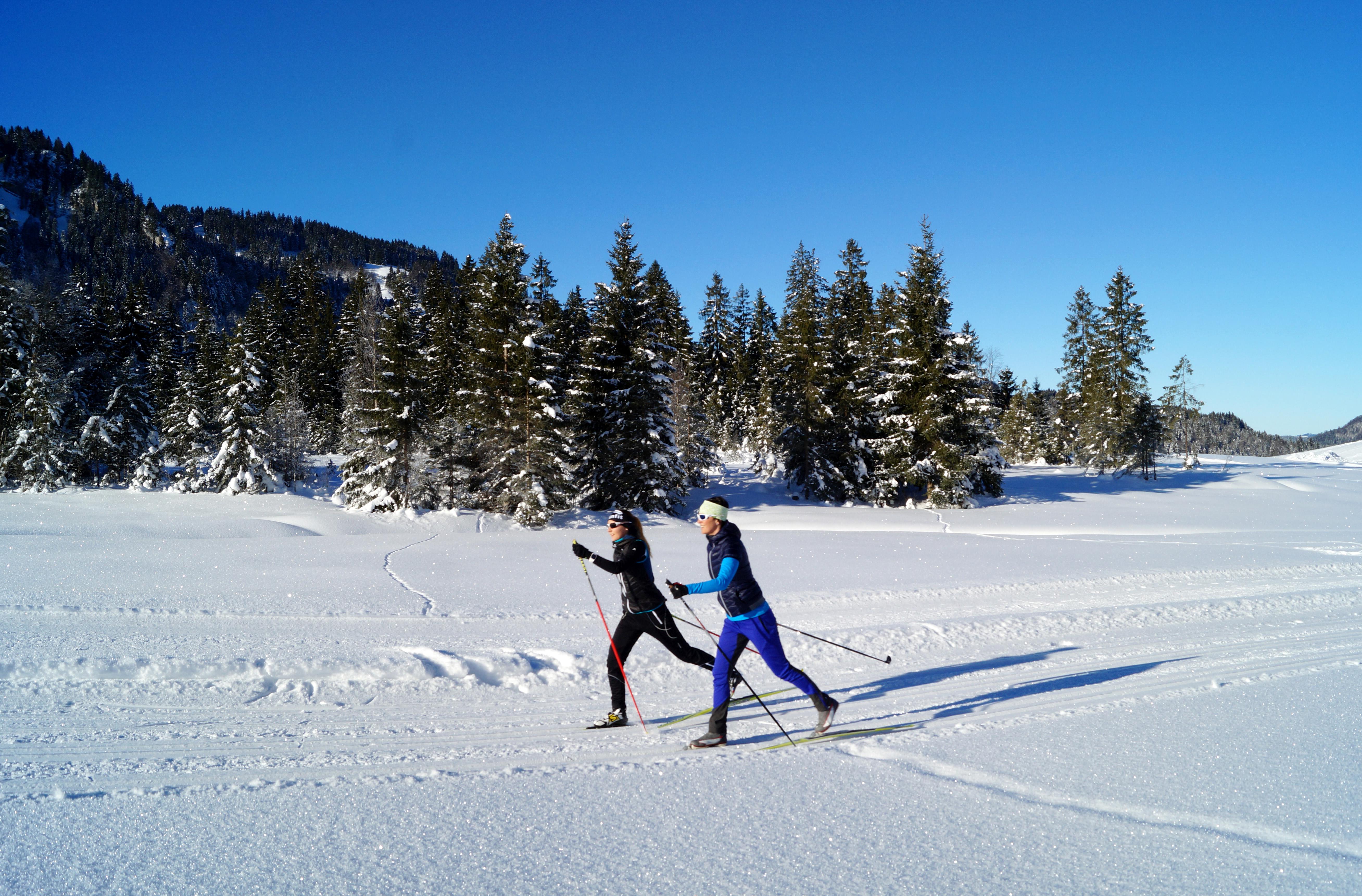 Langlaufen in Sibratsgfäll