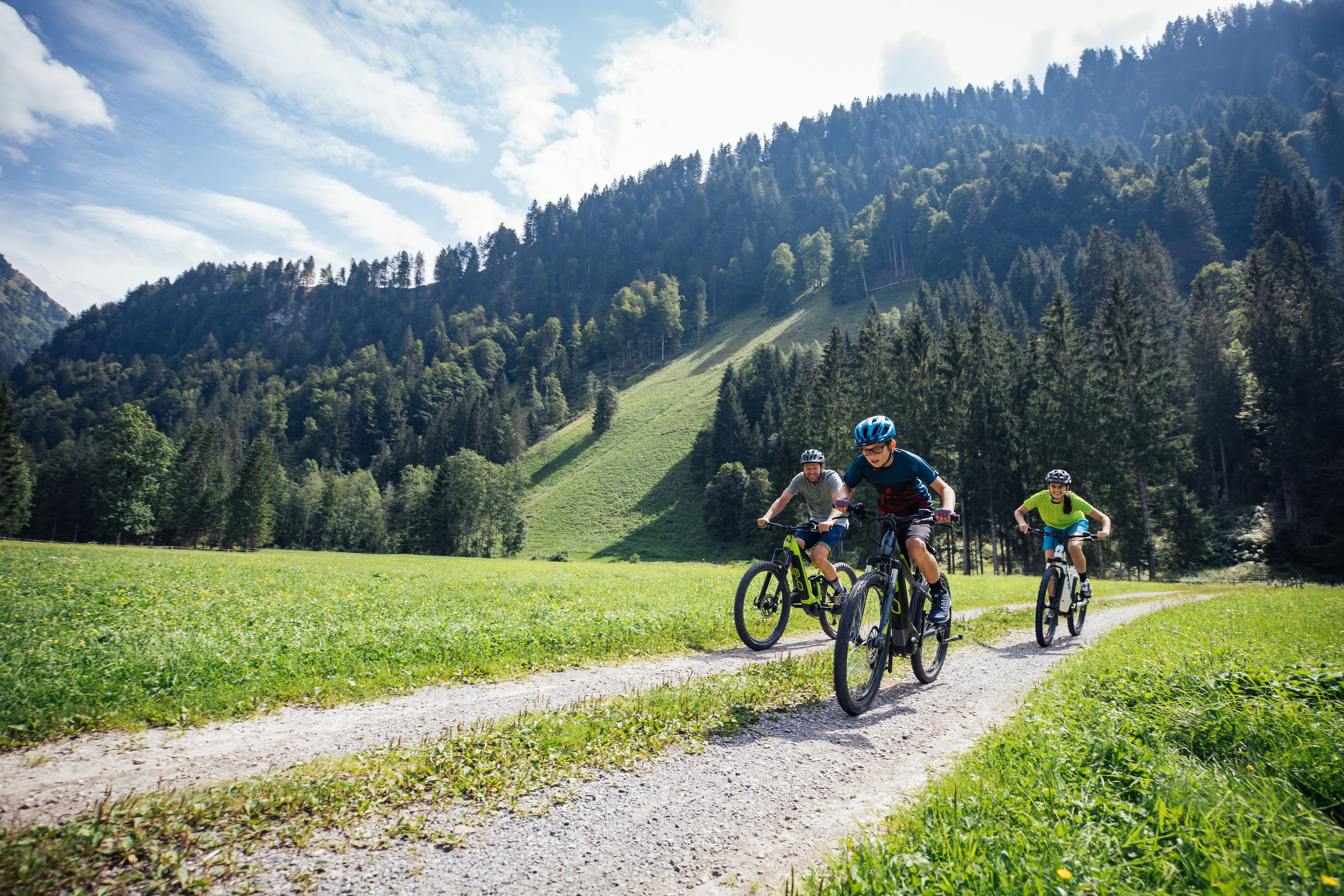 Mountainbike im Bregenzerwald