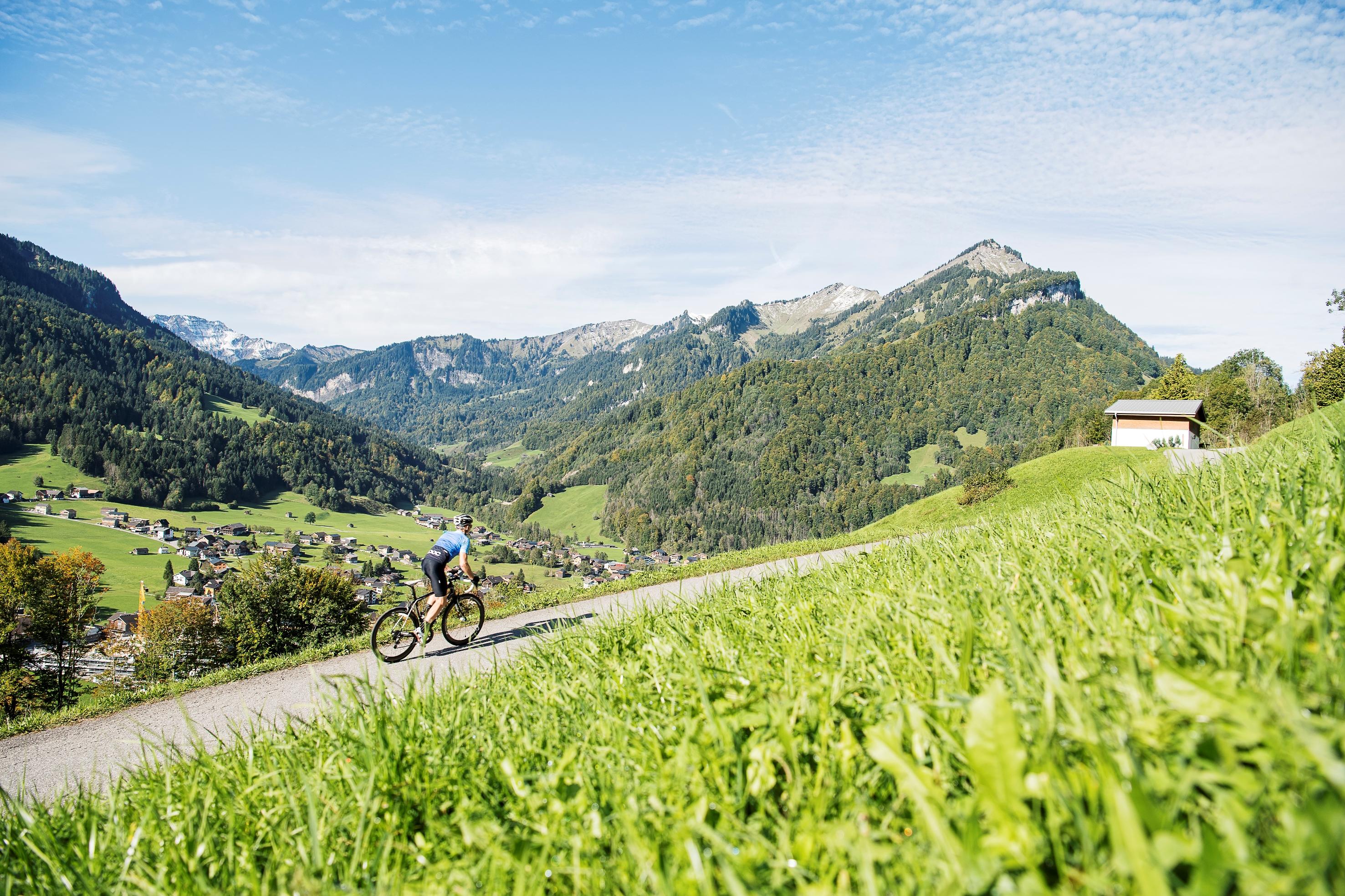 Rennrad fahren in Mellau
