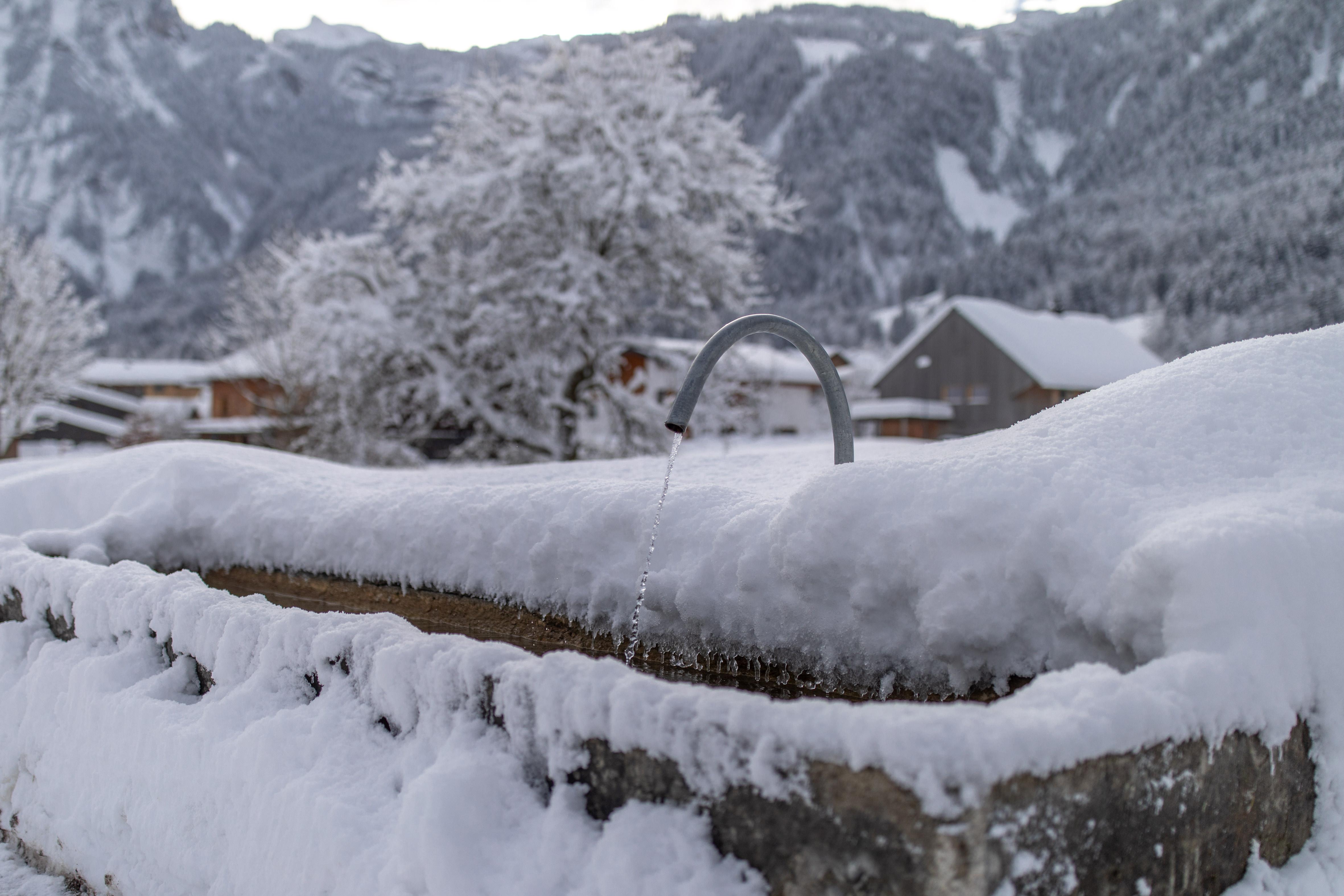 Winterlandschaft in Mellau