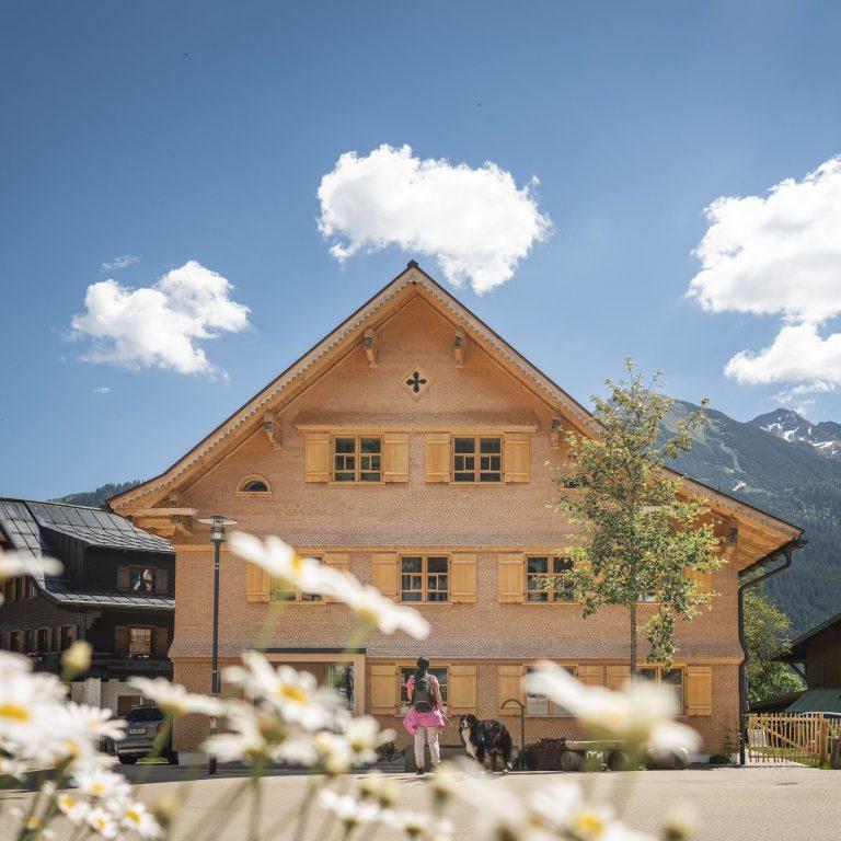 Das Haus von Lucia Riezler in Mittelberg © Dietmar Denger / Vorarlberg Tourismus