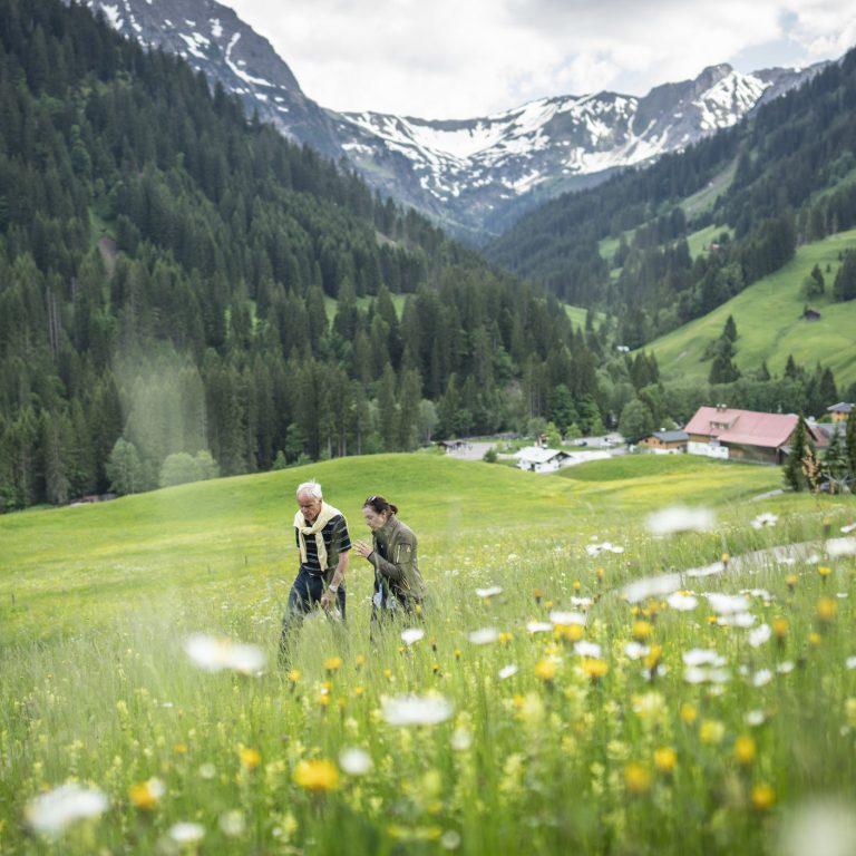 Oberhalb von Baad © Dietmar Denger / Vorarlberg Tourismus