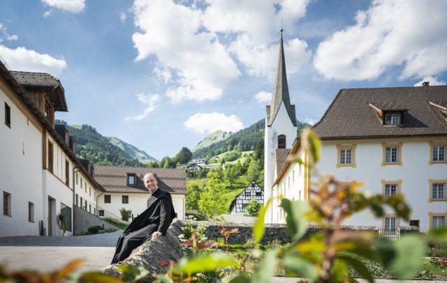 Pater Kolumban Garten Propstei © Dietmar Denger / Vorarlberg Tourismus