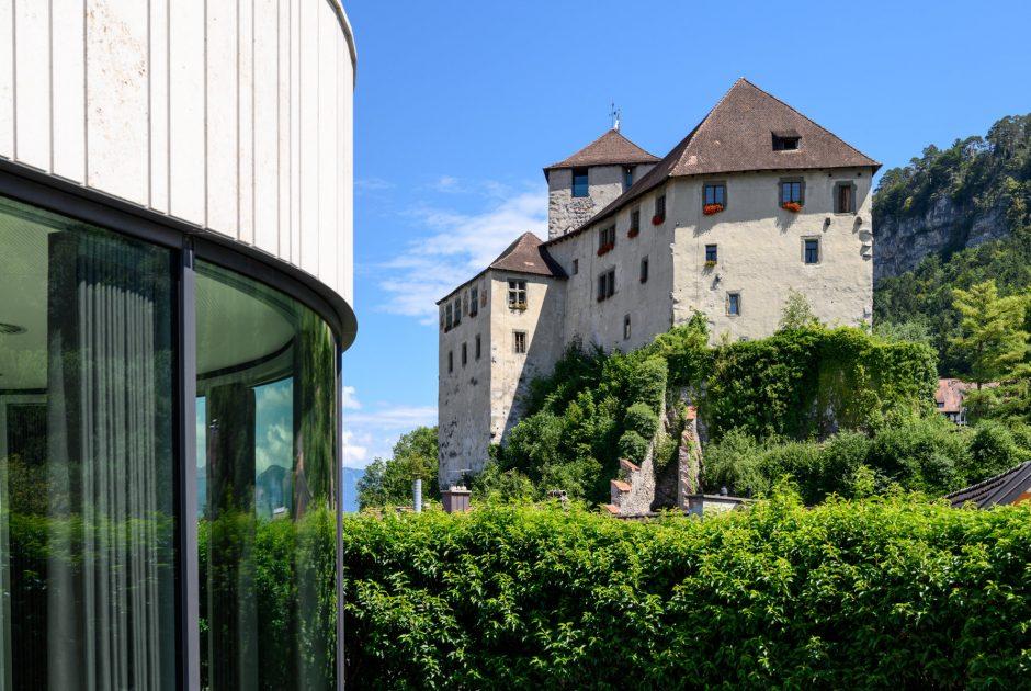Schattenburg und Montforthaus © Gregor Lengler / Vorarlberg Tourismus