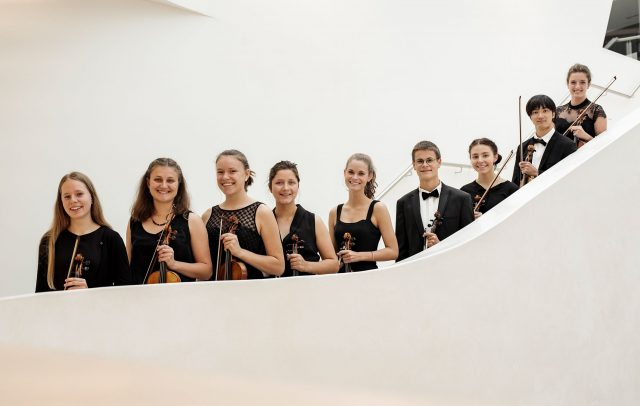 Quarta4, Youth Philharamonic Orchestra (c) Quarta4, Marcel Mayer