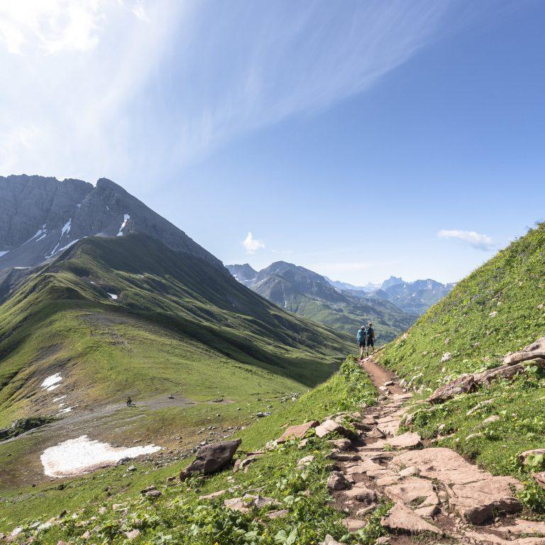 Blick-auf-Rüfispitze © Lucas Tiefenthaler / Vorarlberg Tourismus