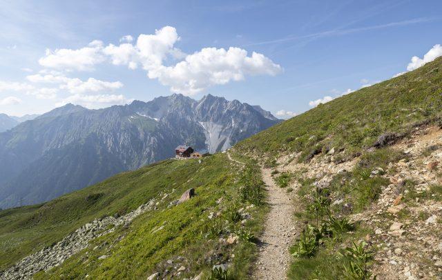 Kaltenberghütte © Lucas Tiefenthaler / Vorarlberg Tourismus
