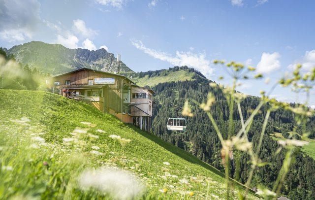 Bergstation in Sonntag-Stein
