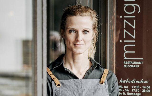Denise Amann, Restaurant Mizzigreen Frastanz © Angela Lamprecht / Vorarlberg Tourismus