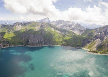Lünersee Bergwelt © Dietmar Denger / Vorarlberg Tourismus