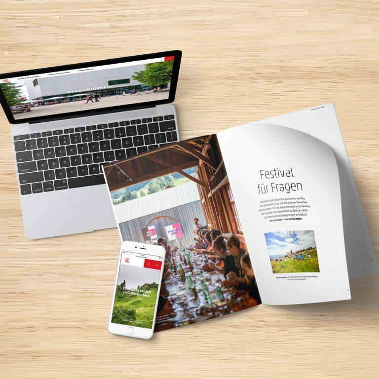Magazin Begegnungen, online und print, © Agnes Ammann / Vorarlberg Tourismus