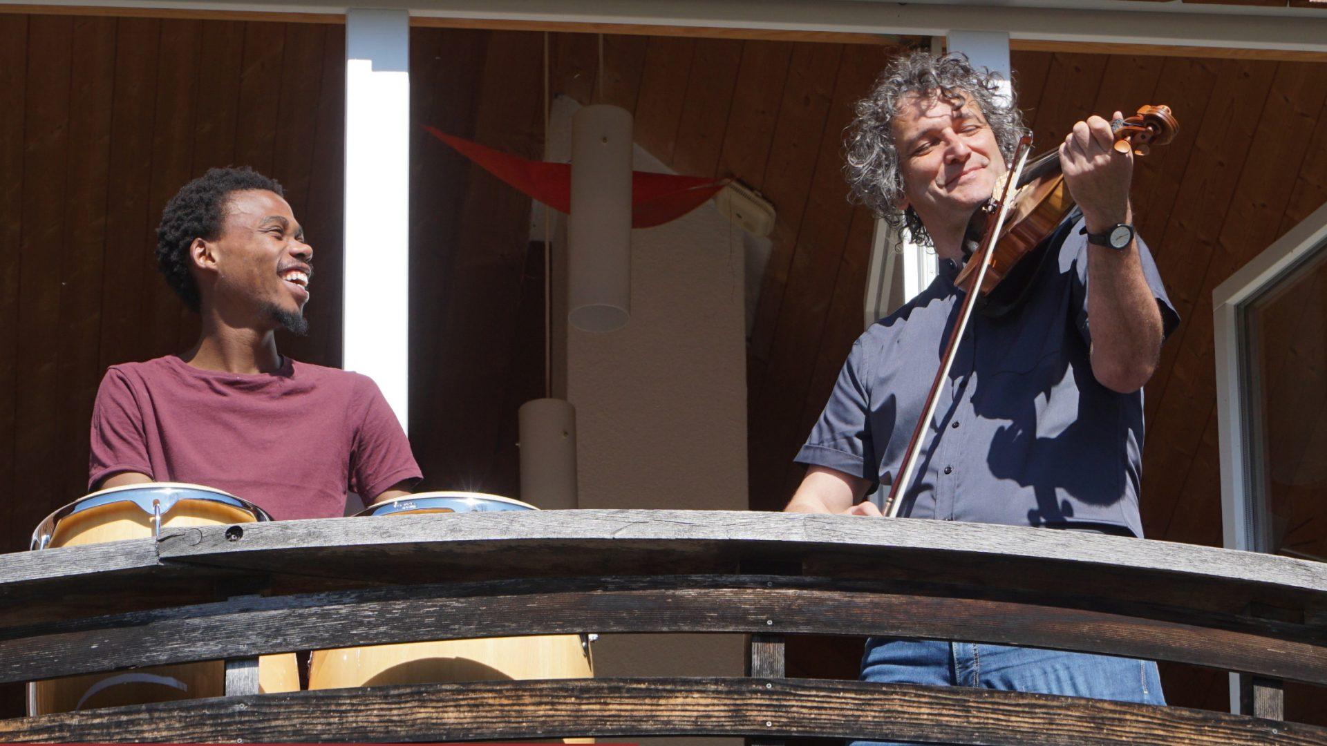Pfortebalkon, Musik in der Pforte, Klaus Christa (c) Musik in der Pforte
